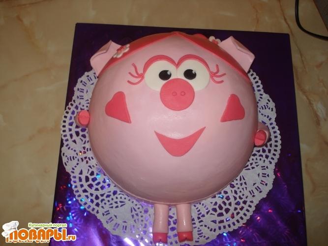 Торт из мастики ребенку пошагово