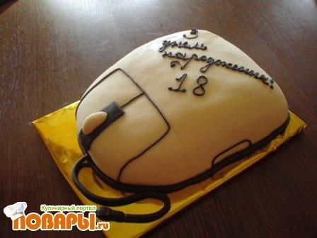 Мастер класс торт компьютер