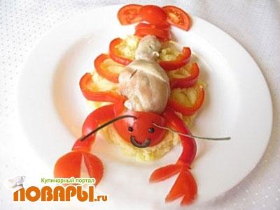Оригинальные горячие блюда из рыбы
