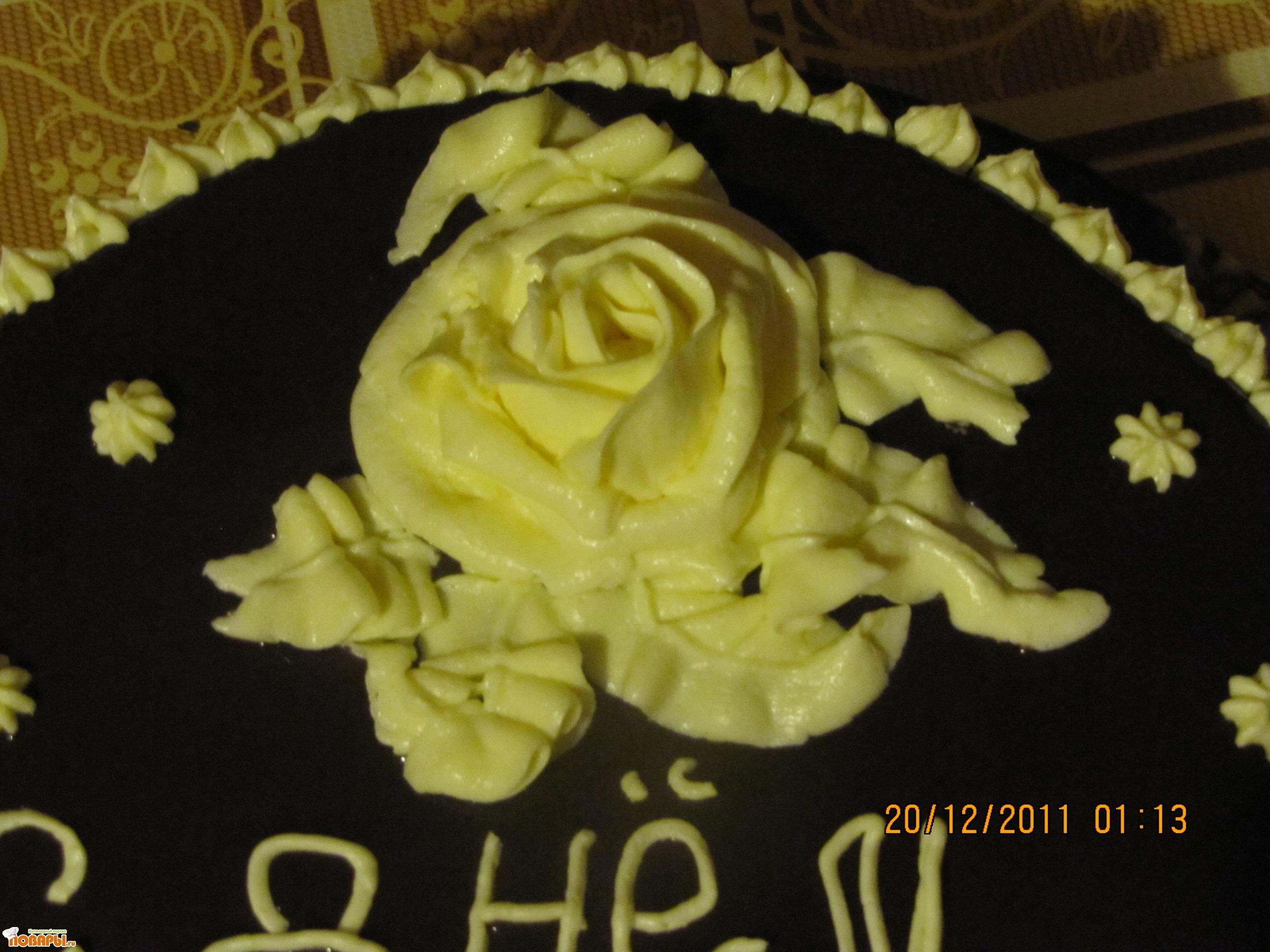 Как сделать белую глазурь для торта в домашних условиях 118