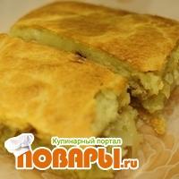 Пирог «Вкусный ленивчик» без раскатки теста  Пирог «Вкусный ленивчик» без раскатки теста
