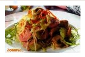Гамбургский салат со свежей капустой