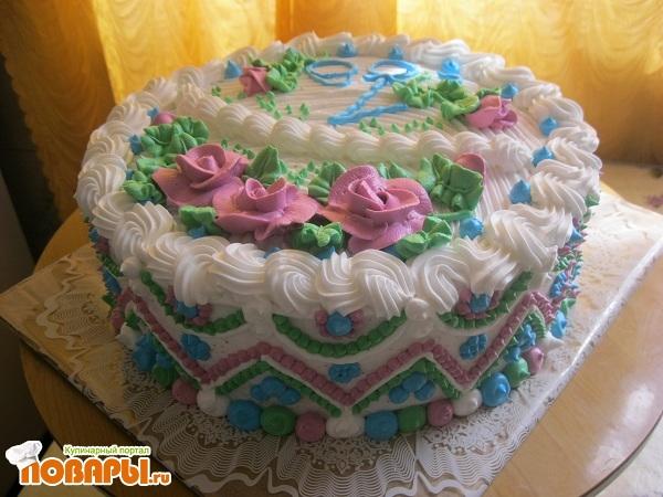 торт на новоселье из крема фото