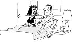 муж в постели
