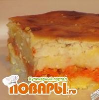 Запеканка из фасоли с морковью