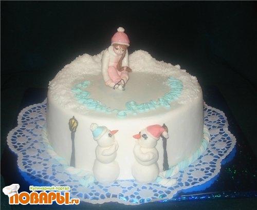 Фотографии фигурных тортов