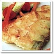 """Рыба в """"чешуе"""" из картофеля"""