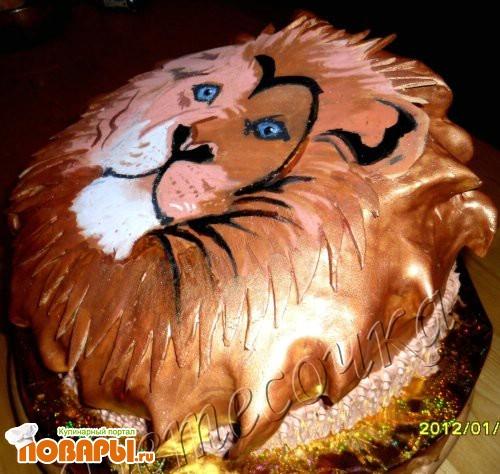 Торт львенок рецепт с фото