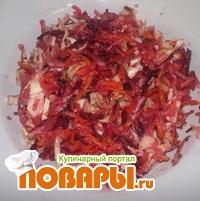 Салат зимний с семенами льна «Витаминка».