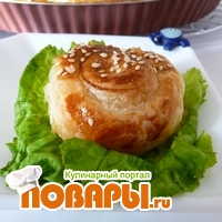 Gül Börek или Пирог - роза