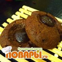 Печенье Шоколадные пуговицы