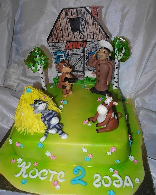 Торт простоквашино фото