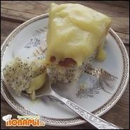 Лимонно-маковый пирог в мультиварке