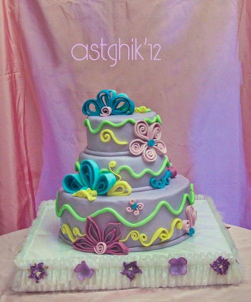 В майкопе фото свадебных тортов