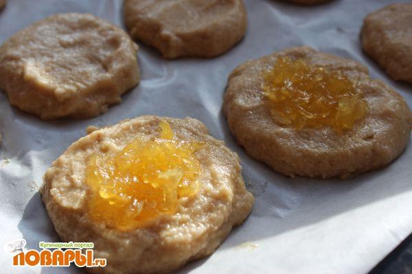 Кабачковое печенье