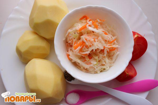 Быстрый и простой суп с квашеной капустой