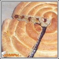 Сладкий пирог Улитка