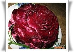 Салат Черная роза