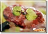 Римский салат со скумбрией
