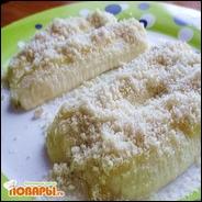 Банановый десерт с кунжутом и медом  Банановый десерт с кунжутом и медом