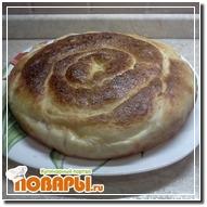 Пирог-улитка с тыквой