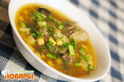 Азербайджанский суп Пити