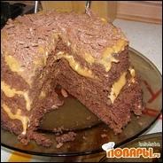 Шоколадный тортик в микроволновке