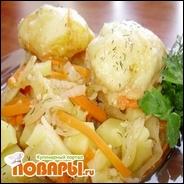 «Штруделя» дрожжевые на овощном рагу