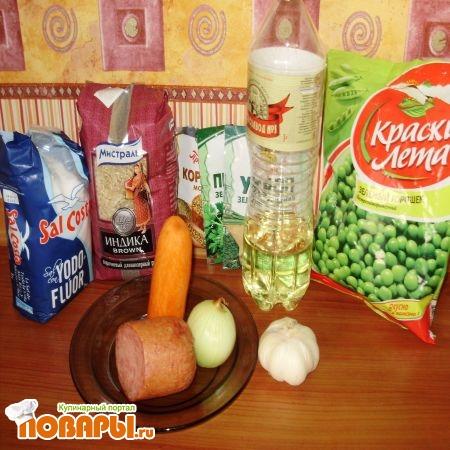 ингредиенты для рисогорохо