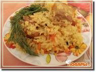 Рис с беконом ароматный