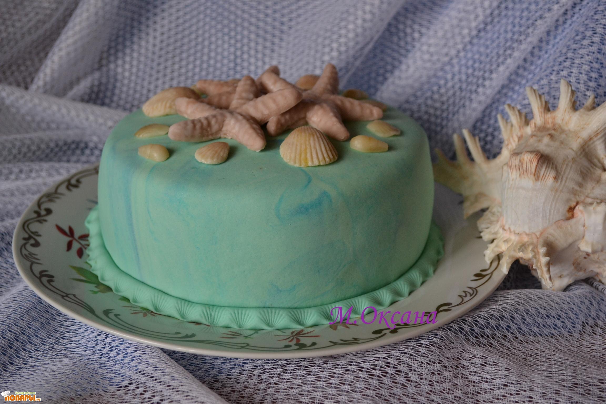 Как сделать ракушки для торта 575