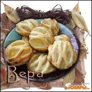 Решетчатое ананасовое печенье