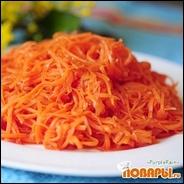 Морковь по-корейски быстрая, яркая