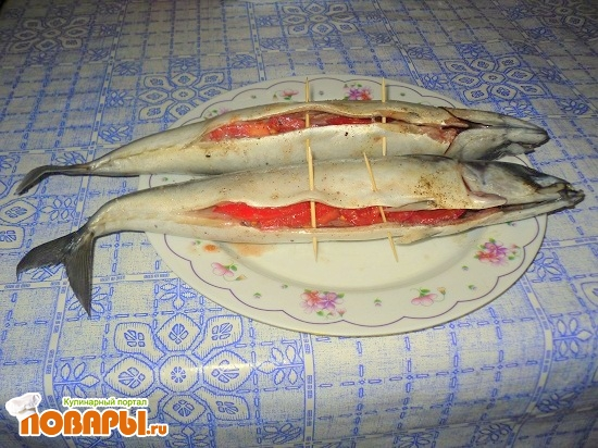 рецепты с фото скумбрия на мангале