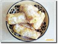 Печенье с начинкой из ревеня