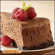 Шоколадный чизкейк со вкусом лесного ореха