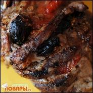 Мясо-гармошка или свинина с черносливом