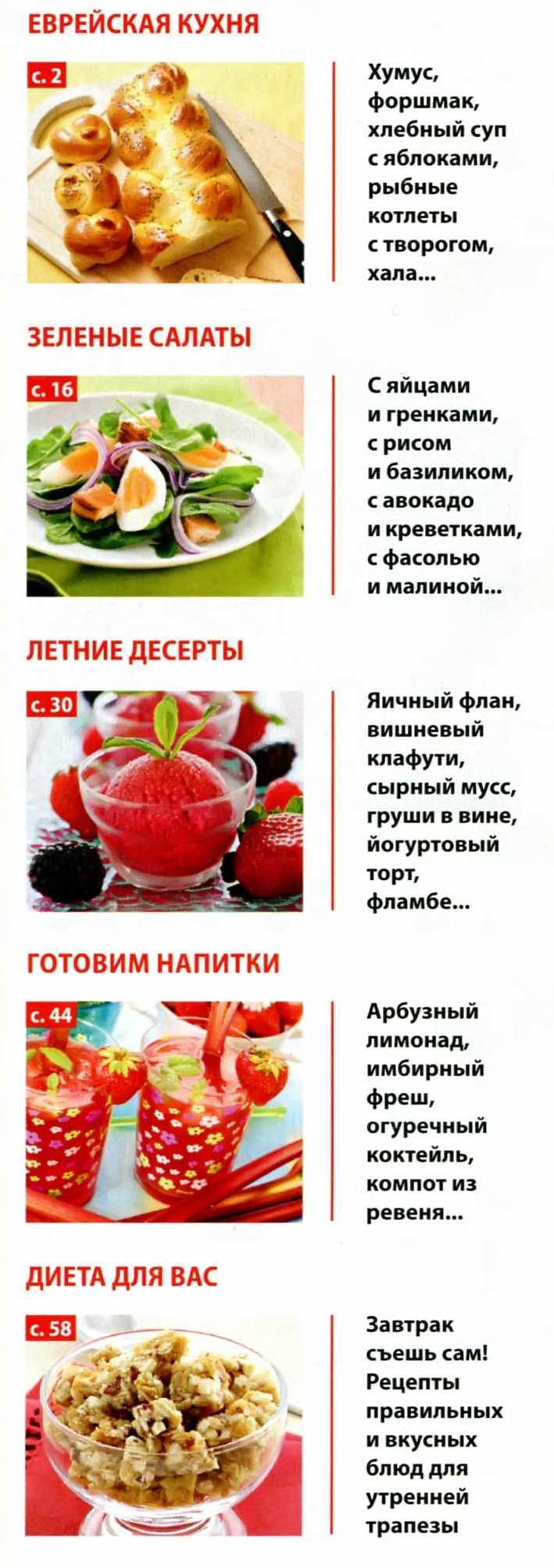 Рецепты от мастер класса