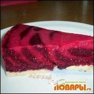 Малиново-ежевичный тортик (без выпечки)