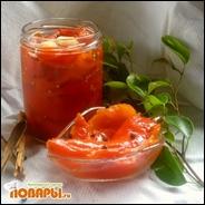Перец в сладком маринаде