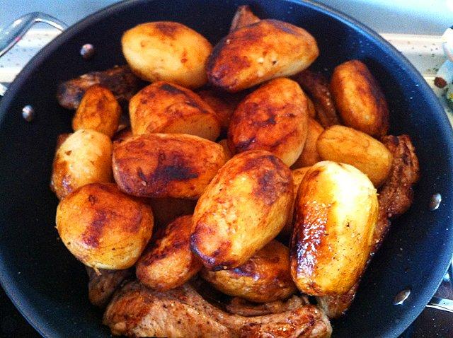 Картошка с фаршем в казане рецепт с фото пошагово