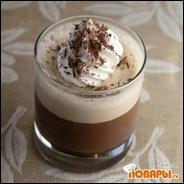 Панна Кота шоколадная с кремом