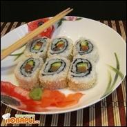 Урамаки (роллы рисом наружу)