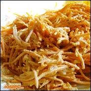 Салат из морковки с грецкими орехами