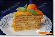 Абрикосово-лимонный торт