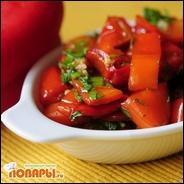 Салат из красного перца