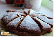 Сладкий пирог-торт на яблочном отваре с яблочным джемом