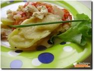 Пангасиус с картофелем и овощами