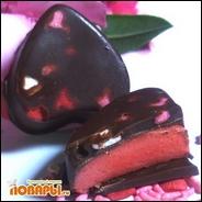Конфеты Fresa y chocolate