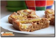 Постная шарлотка (или постный яблочный пирог)